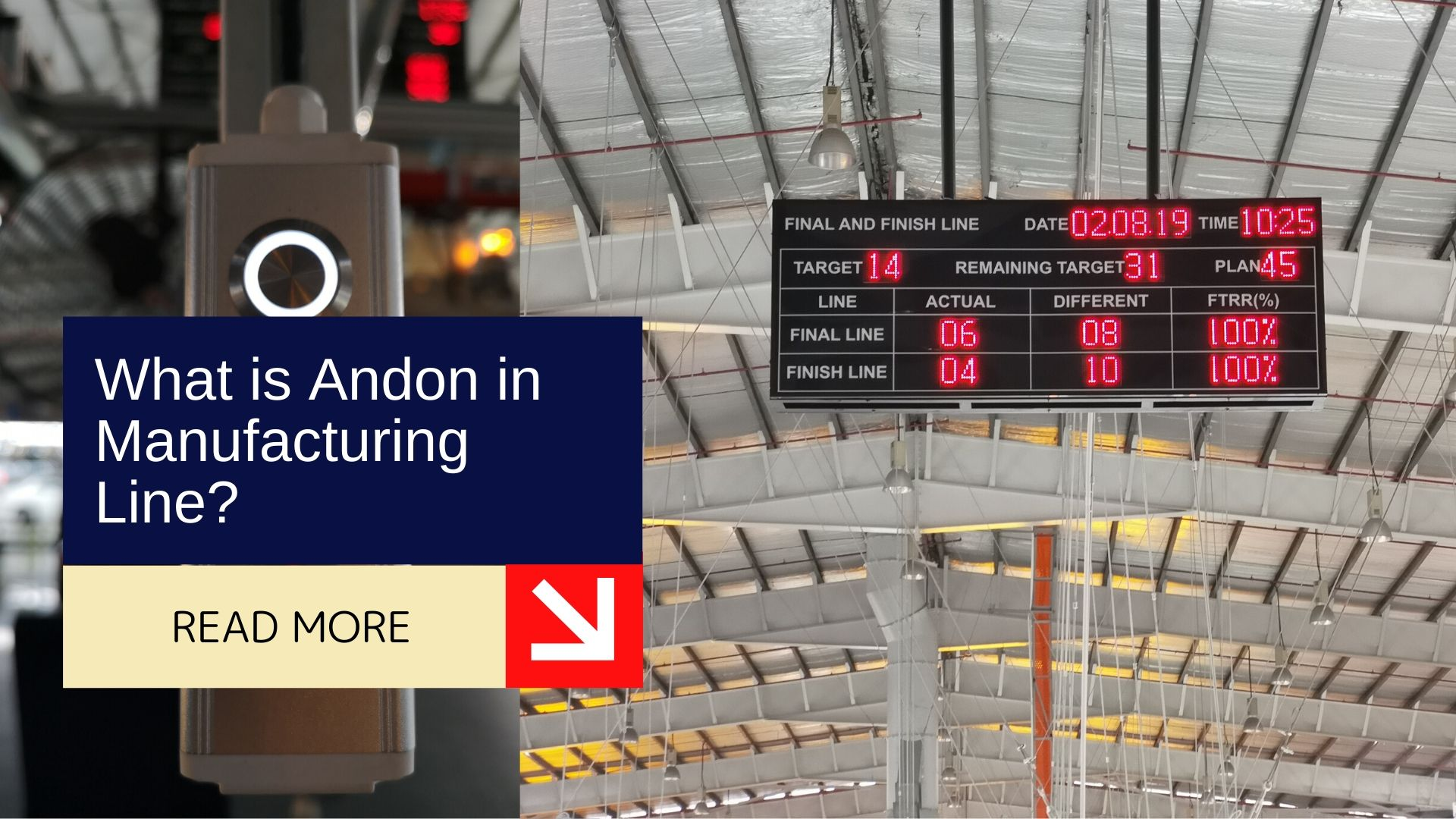 What is Andon in Manufacturing Line? 1