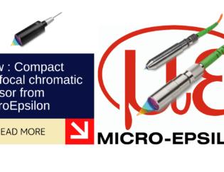 New: Confocal chromatic sensor with high tilt angle 4