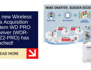 The new Wireless Data Acquisition System WD PRO Receiver (WDR-LE-Z2-PRO) has launched! 6
