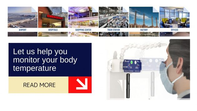 Let us help you monitor your body temperature 1