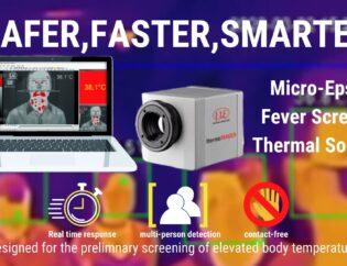 Thermal imaging camera for body temperature monitoring 3