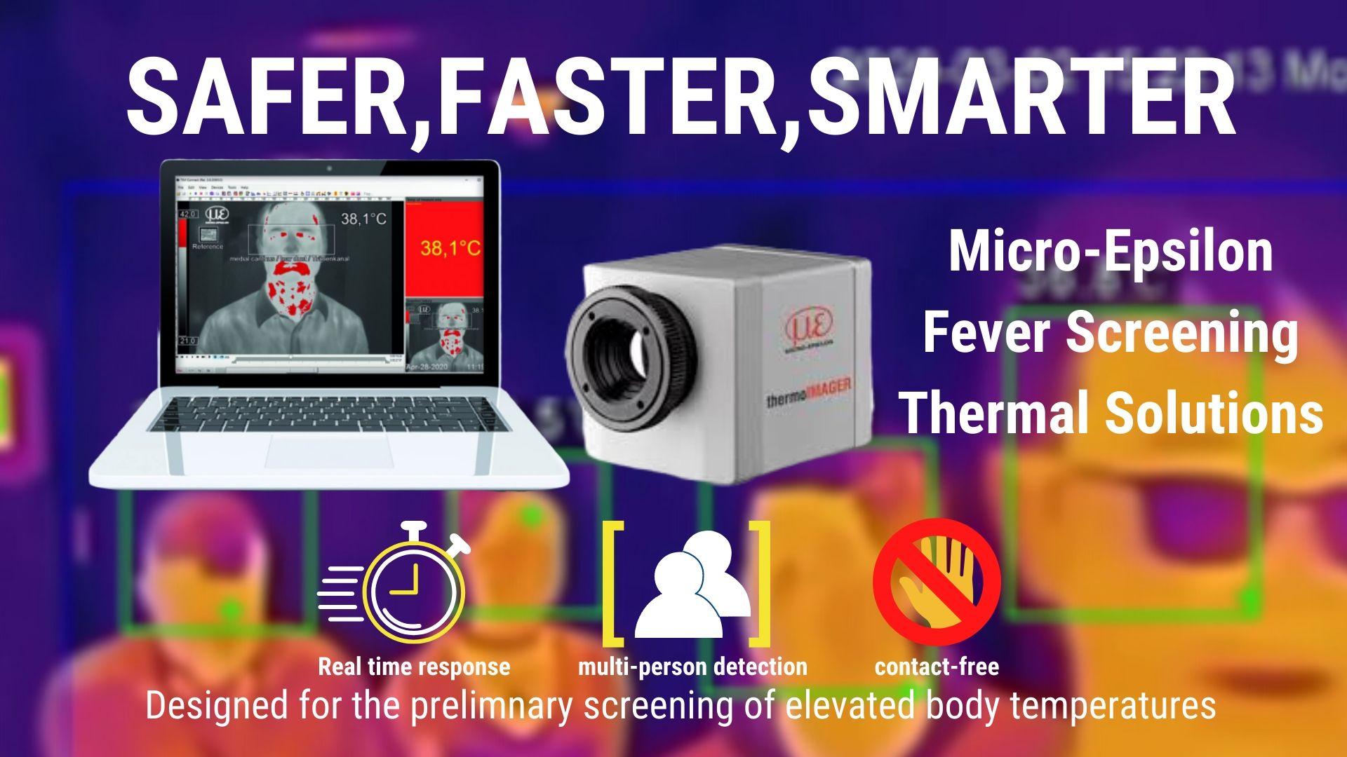 Thermal imaging camera for body temperature monitoring 2