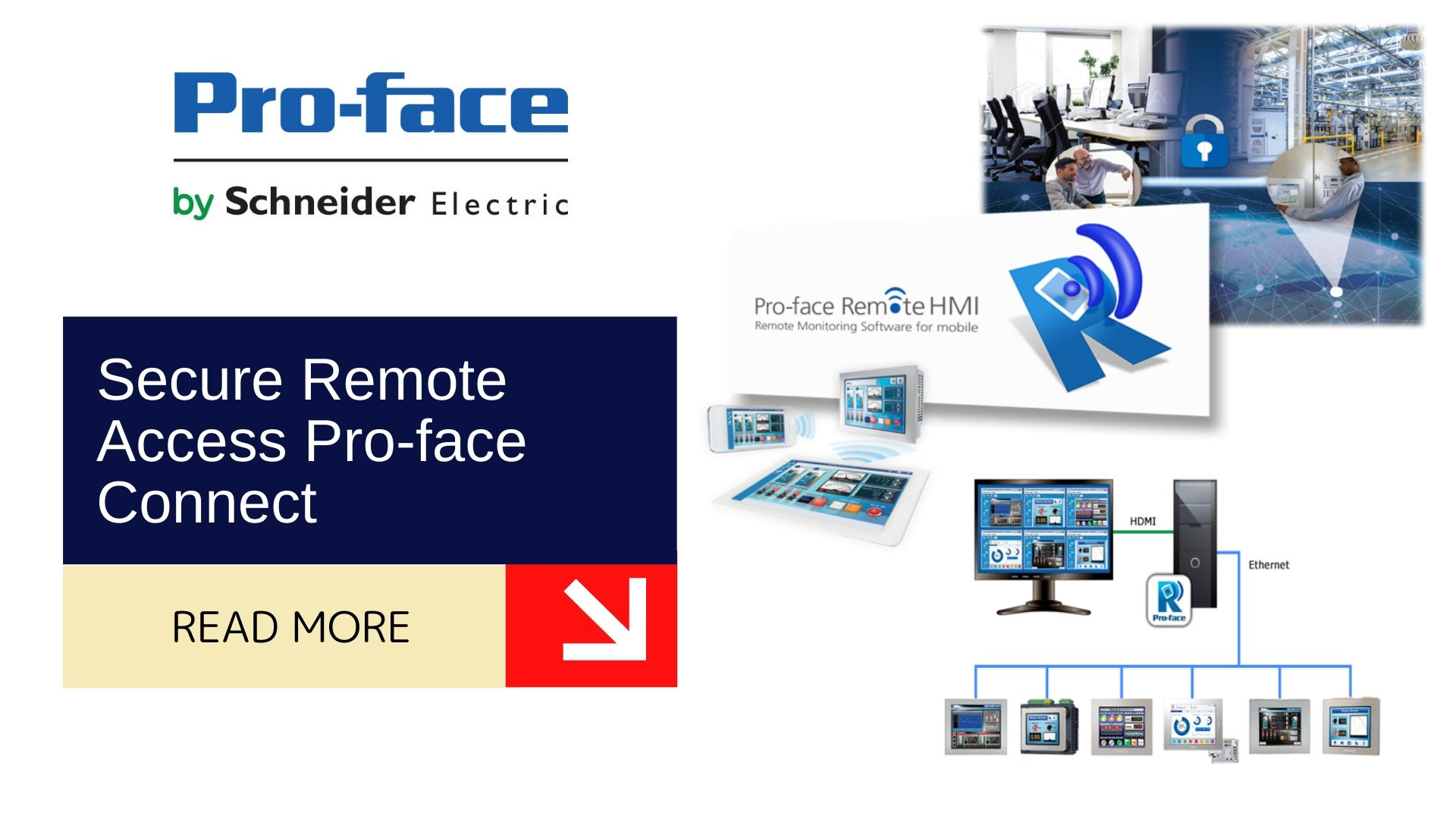 Secure Remote Access Pro-face Connect 2