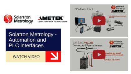 Solatron Metrology - Automation and PLC interfaces 9