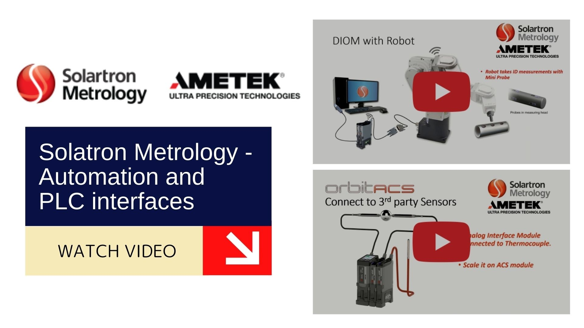 Solatron Metrology - Automation and PLC interfaces 1