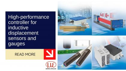 High-performance controller for inductive displacement sensors and gauges 7