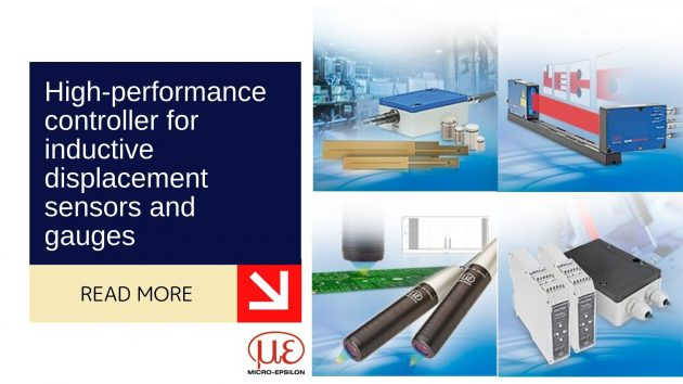 High-performance controller for inductive displacement sensors and gauges 1